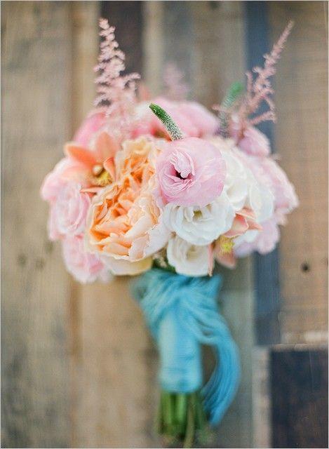 bouquet mariage mer plage theme bleu tiffany, Brautstrauß, wedding folwers