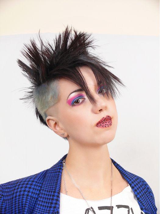 Short Cuts medium black Hairstyles