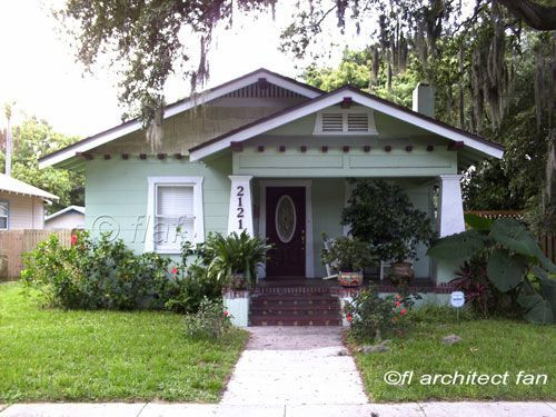 A Small Bungalow Home Makes The Most Of Itus Porch And Location See More With Craftsman Homes