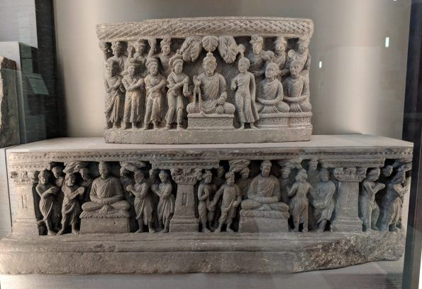How To Recreate A Gandhara Stupa At The British Museum The Wonder House British Museum Stupa Buddha Sculpture