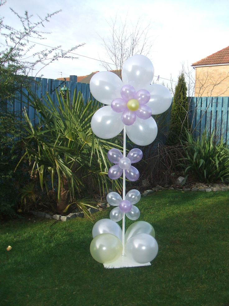 Best images about balloon flower arches columns
