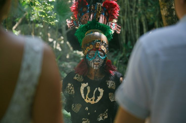 we organize your mayan wedding in the cenotes area of Riviera Maya .