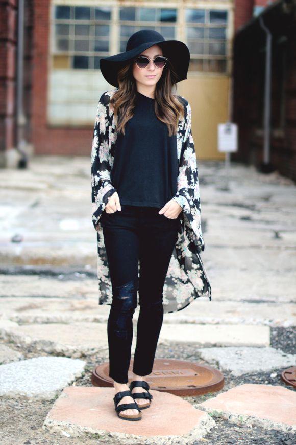 5 maneiras muito estilosas de usar a tendência do maxi quimono