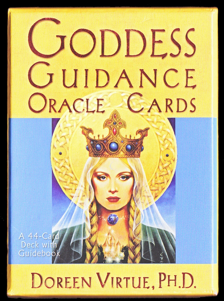 Goddess Guidance Oracle Cards Cover Art