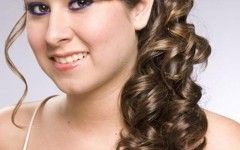 Wedding Hairstyles Down To The Side
