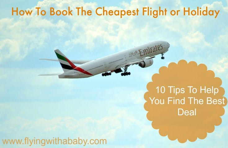 How to book cheap flights and package holidays. Find out when to book your flight or holiday, what day is cheapest to travel, how to find great deals & more