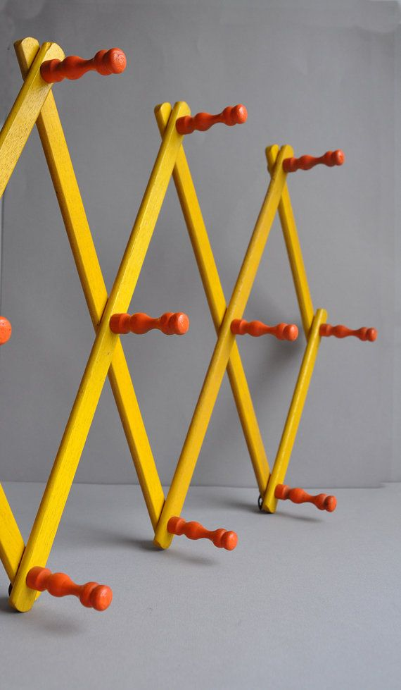 SALE 20% OFF Bright Orange & Yellow Mug Rack on Etsy, $31.37 AUD