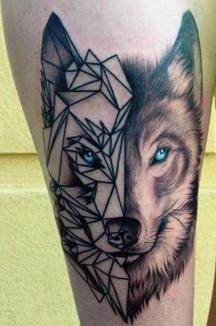 Tatuaggio Lupo Significato E Foto Lei Trendy Per Tatuaggio Lupo