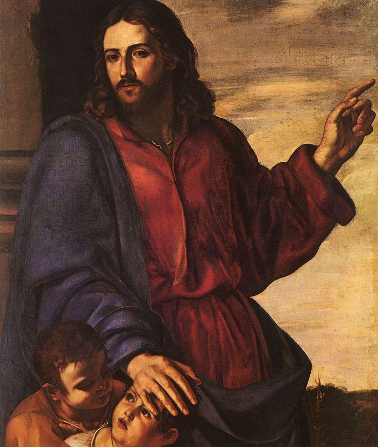 Artemisia Gentileschi - Christ Blessing the Children (attributed to)
