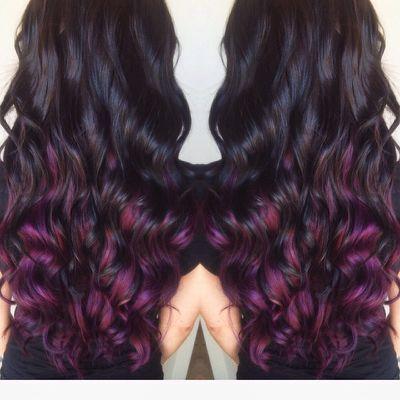 Love the purple underneath! |