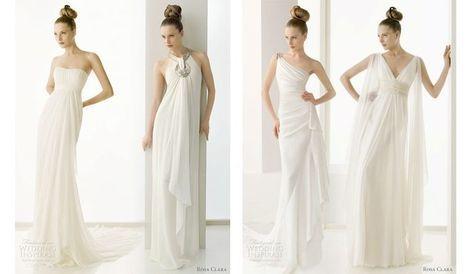 Что за прелесть это платье в греческом стиле!Советы по подбору платья, прически и пр. для невесты