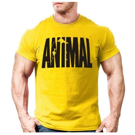 a0045a7d Body builder Animal Rock John Cena Beast Mode tee t-shirt shirt tqi ...