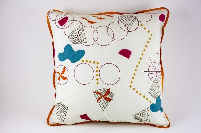 Woodblock Kandinsky 6 by Jain&Kriz. 100% cotton.