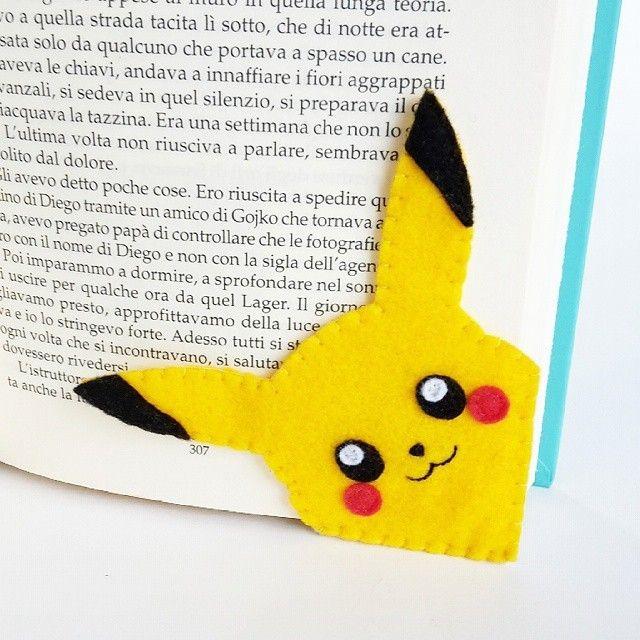 Felt Corner Bookmarks by Lanatema on Etsy Browse... |