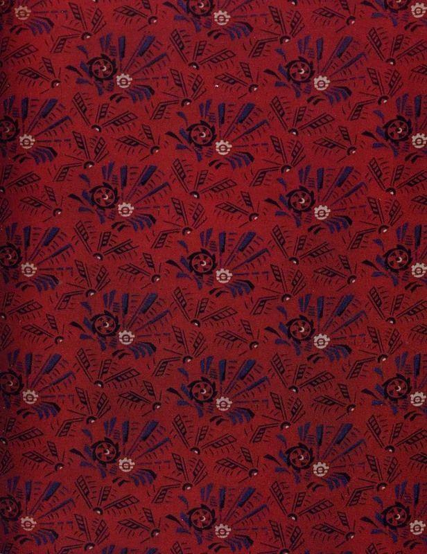 Beautiful Soviet Fabrics Of The 20s – 30s.