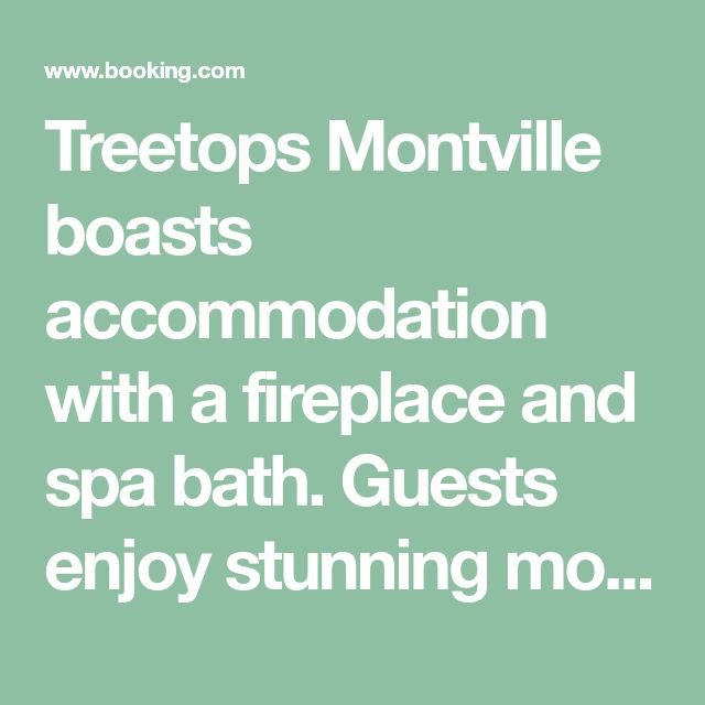 Treetops Montville boasts accommodation with a fireplace and spa bath. Guests enjoy stunning mountain views and complimentary champagne upon arrival.