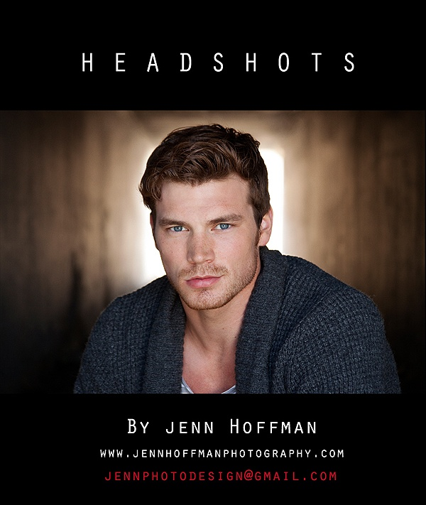 Headshots...love this shot and the use of a tunnel behind him.