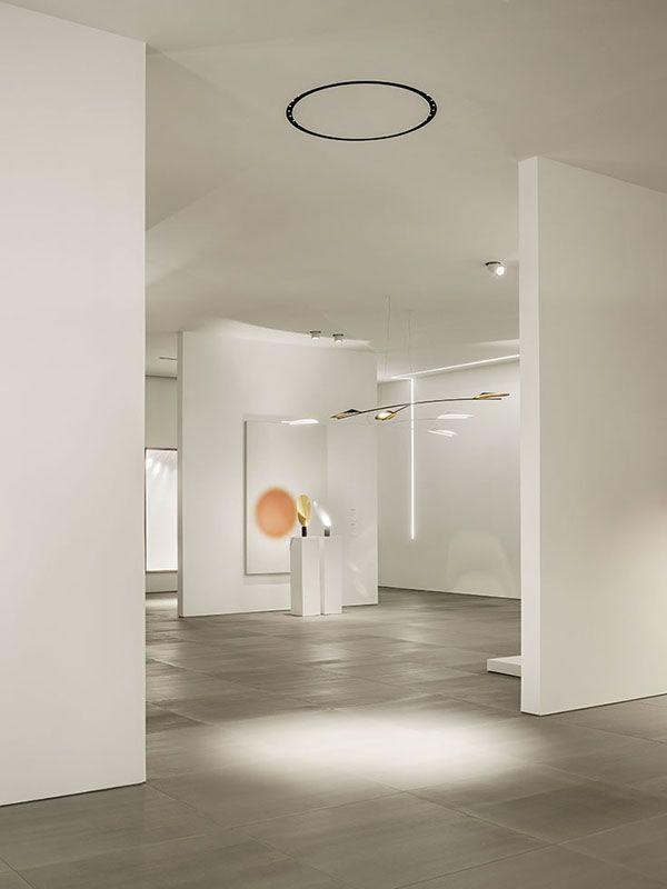 """""""... The overall feeling is like that of  entering  a museum space and experiencing an installation where each lamp is conceived as a sculpture created by an artist..."""" #RonGilad"""