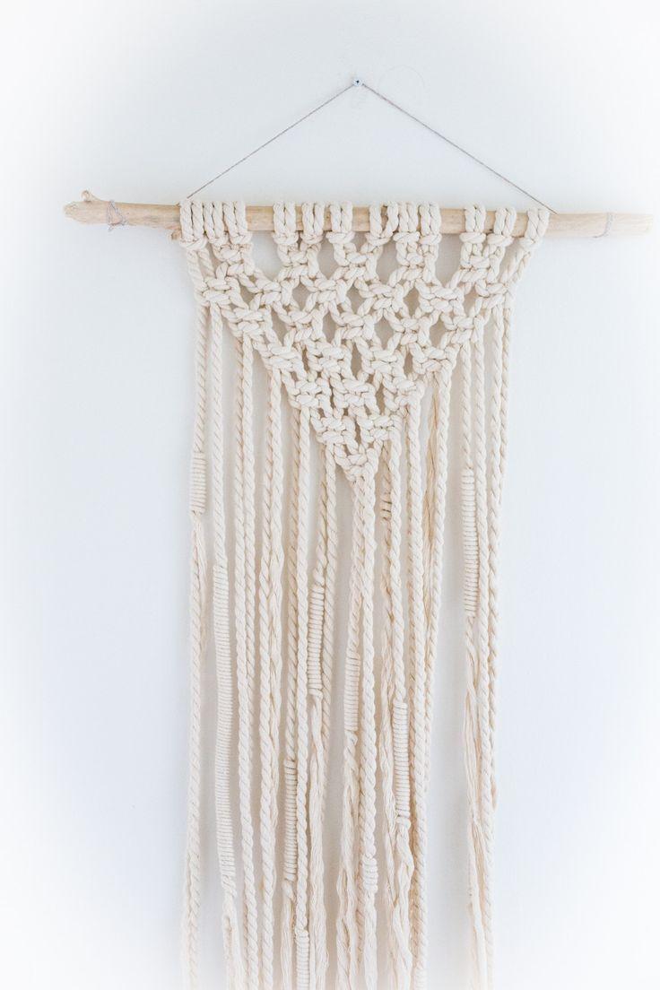 Natural Rope Macrame | www.BowlandPitcher.com