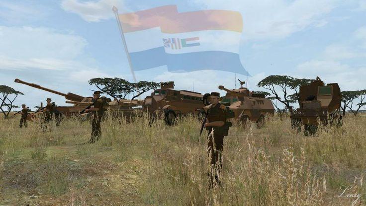 The South African Border War, often referred to by South Africans as the Angolan Bush War, was a conflict that took place from 1966 to 1989, largely in South-West Africa (now Namibia) Angola. It was fought between South Africa + its allied forces (the National Union for the Total Independence of Angola, UNITA) on the one side, the Angolan government + South-West Africa People's Organisation (SWAPO) + their allies (Cuba) on the other.