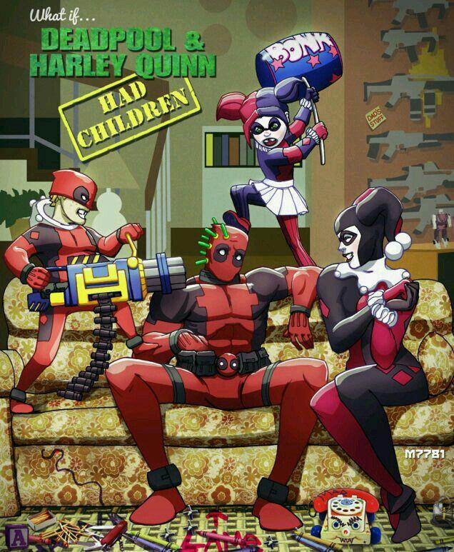 Deadpool Harleyn Quin