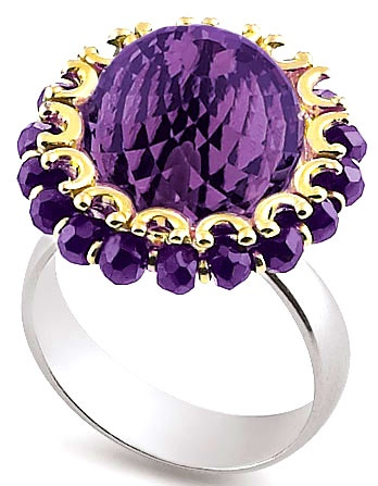 Anello by Gerardo Sacco - beautiful cocktail ring
