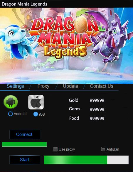 This Dragon Mania Legends Hack will help you generate unlimited Gold