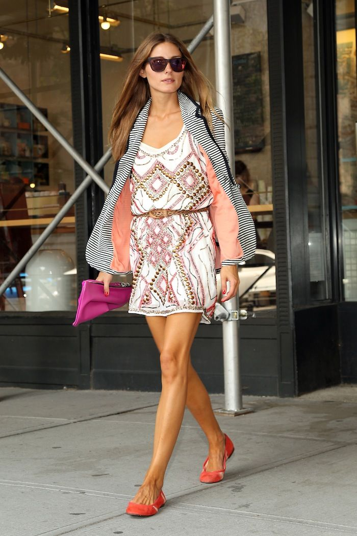 Olivia Palermo in One Dress a Day's Barcelona dress. Coming Oct 1.