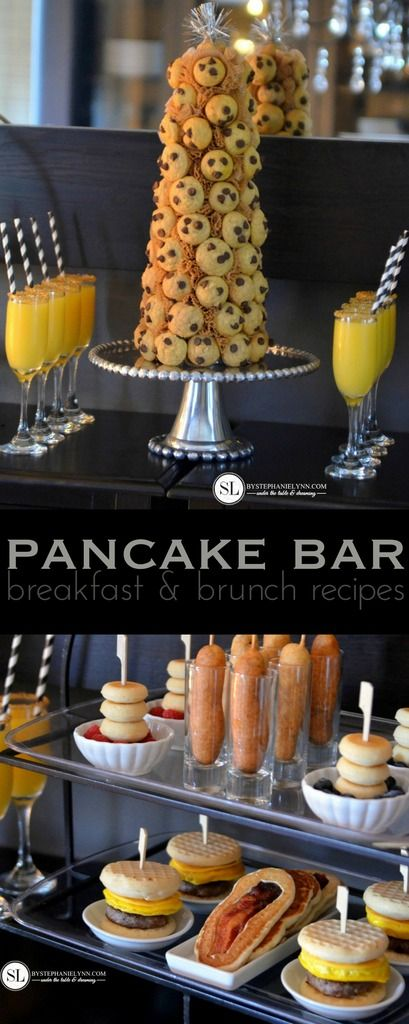Pancake Bar Party | Simple & Fun Breakfast and Brunch Recipes #12daysofpancakes