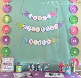 New Cute Birthday Decorations