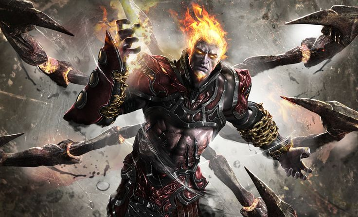 Ares, God of War art