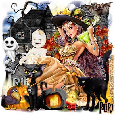 """MI RINCÓN GÓTICO: CT for Daniela E Designs, """"Spooky Halloween """""""