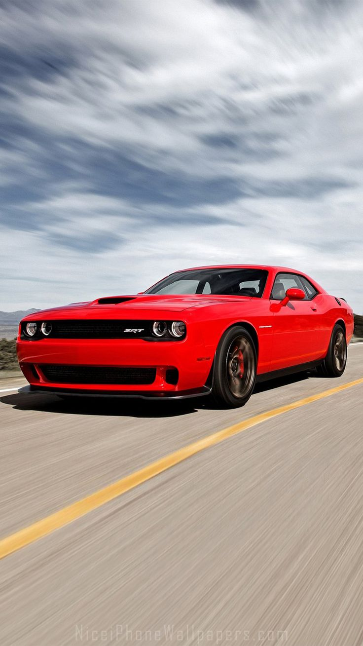 Dodge challenger srt hellcat 2015 iphone 6 6 plus wallpaper