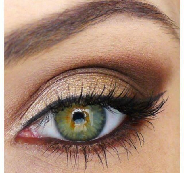 Makeup ideas for green eyes