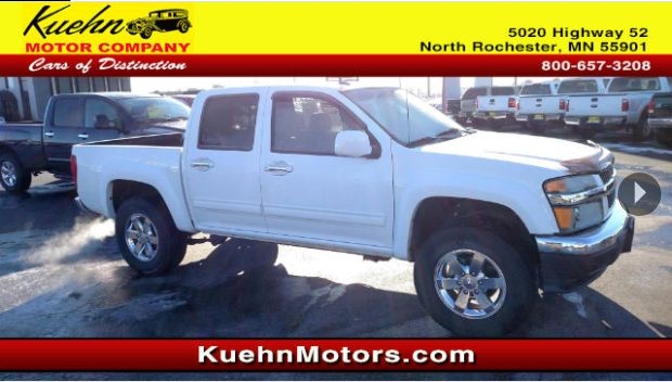 This 2010 Chevy Colorado, with its grippy 4WD, will handle anything mother nature decides to throw at you. Check it out!