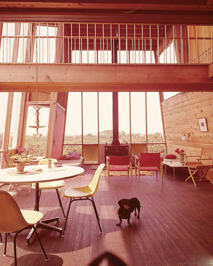 The Frank House by Andrew Geller Fire Island). It's pet name was 'The Cube'  - a beach house fit for man and beast. From Beach Houses by Alastair  Gordon, ...