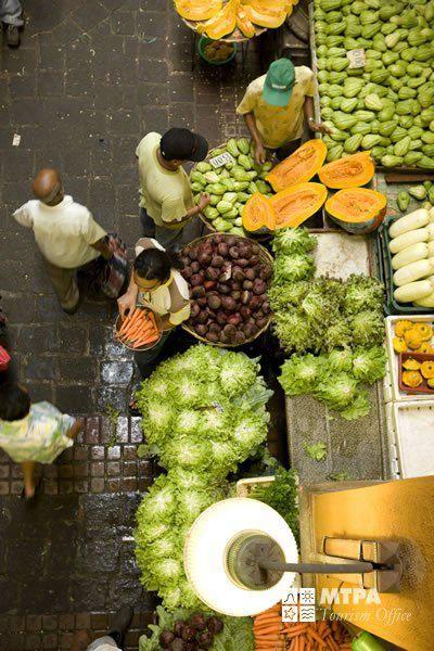 Marché de Port Louis / Ile Maurice
