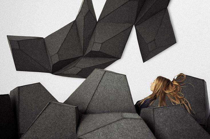 Les Angles par Stéphanie Marin : paysage intérieur à moduler