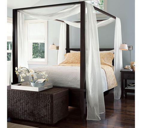 Farmhouse Canopy Bed From Pottery Barn Canopy From Two