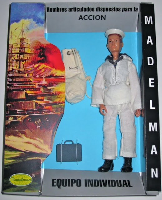 Madelman military sailor