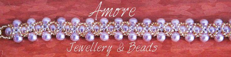 Pulsera Amore ANNA Puedes encontrar más diseños en: http://amorepedreria-accesorios.blogspot.com.co/