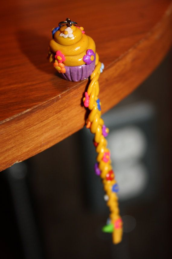 Rapunzel inspired cupcake charm for sale in my Etsy shop  https://www.etsy.com/ca/listing/114895689/disney-princesscharacter-cupcakes?ref=shop_home_active_2