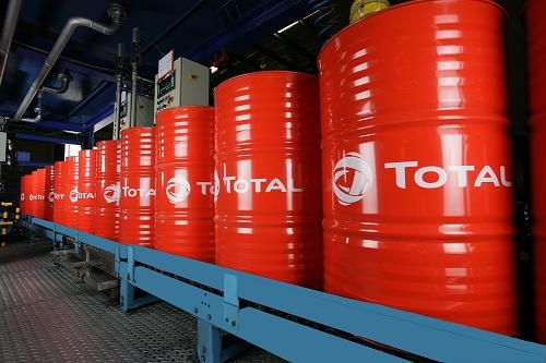Total Lubricants Blending Plant Cilindrical Drums