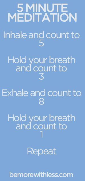 5 minute breathing meditation
