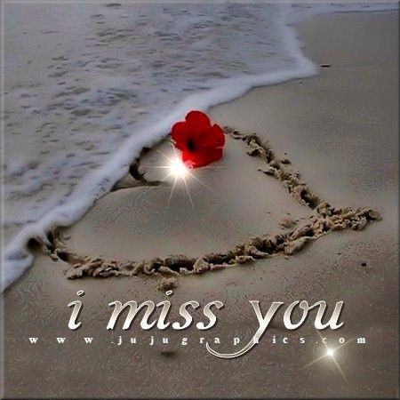 flower beach quotes miss you comments