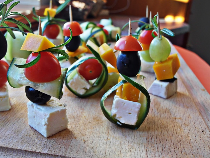 Tapas / małe przekąski / small snacks   Tapas de Colores
