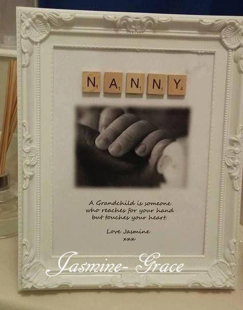 Nanny Scrabble Frame