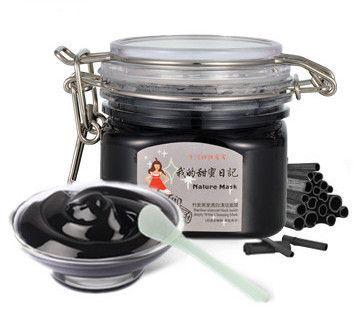 Лечение акне бамбук угольно-черного внутри глубоко белый очищающая маска угорь нефть управления чистый маска для лица