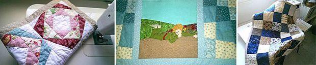 Amore&More, artículos textiles artesanales para bebés #unamamanovata #colchas #patchwork #banderines ▲▲▲ www.unamamanovata.com ▲▲▲