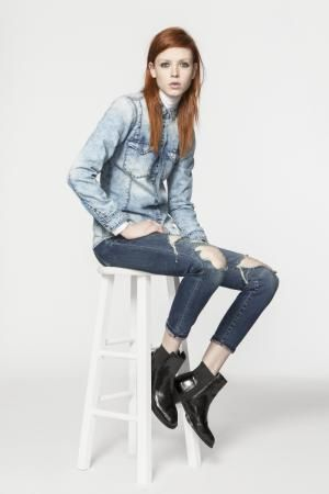 7 Ways to Wear Double Denim: Wear Different Washes of Denim Together
